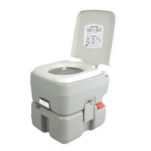 high end portable toilet for camping