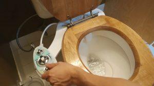 bidet toilet combo installation