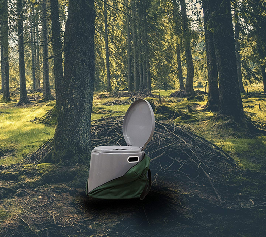 portable camping toilet cost