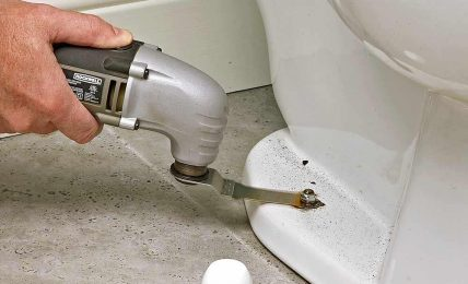 Remove Rusted Toilet Tank Bolts