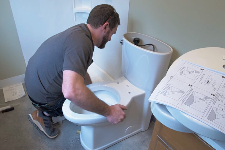 How to Plumb a Toilet in a Concrete Slab