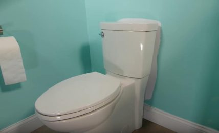 Should A Toilet Tank Touch The Wall